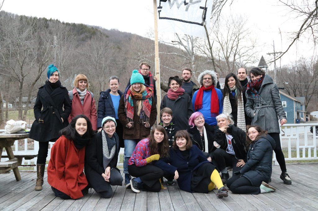 eTextile Spring Break 2018 participants